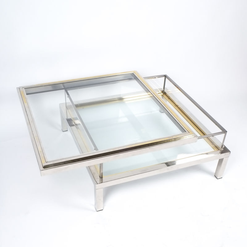 Romeo Rega sliding table chrome 1 Kopie