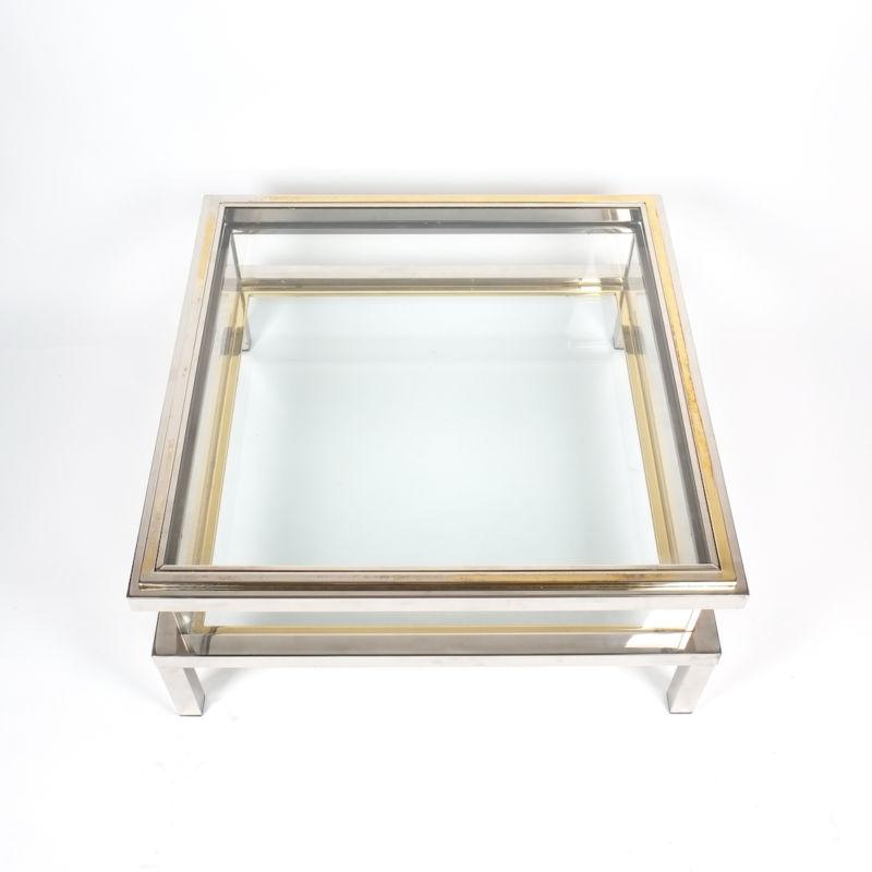 Romeo Rega sliding table chrome 2 Kopie