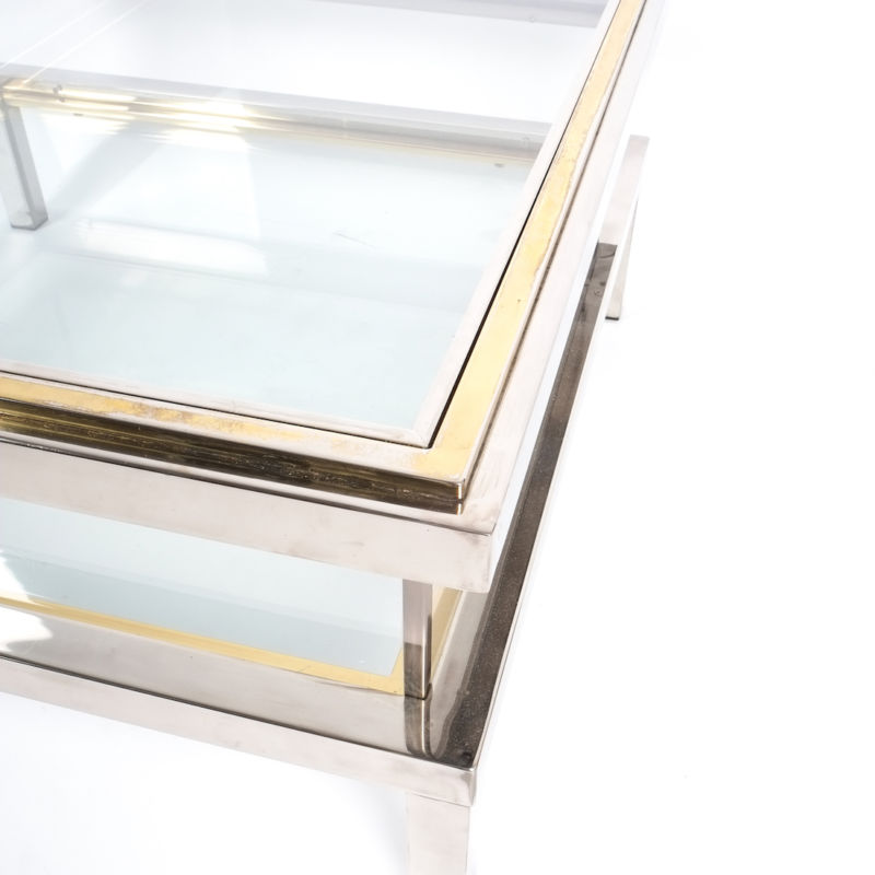Romeo Rega sliding table chrome 4 Kopie