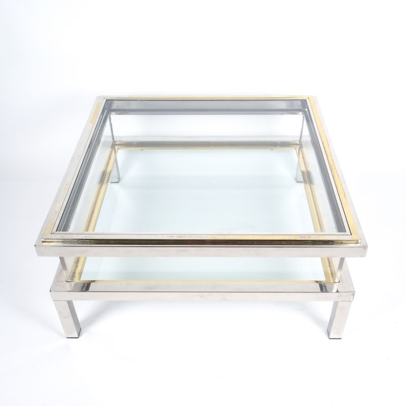 Romeo Rega sliding table chrome 8 Kopie