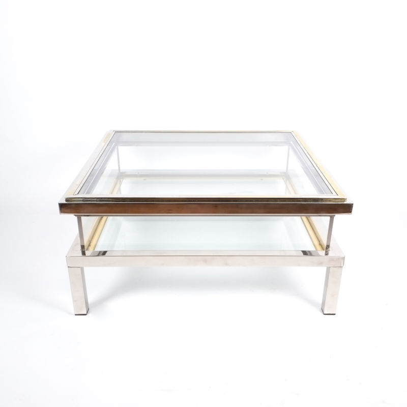 Romeo Rega sliding table chrome 9 Kopie