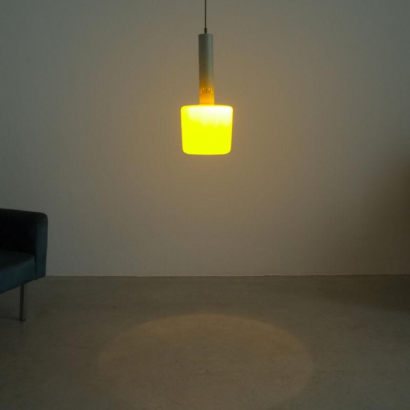 Stilnovo Yellow Pendant Lamp 01