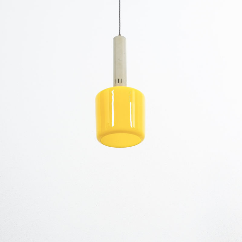 Stilnovo Yellow Pendant Lamp 05