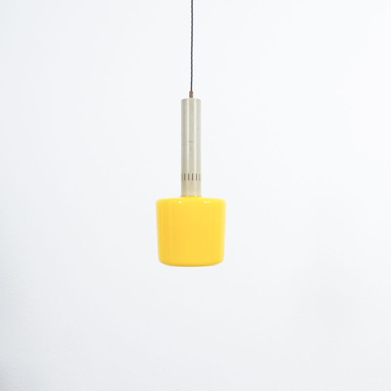 Stilnovo Yellow Pendant Lamp 06
