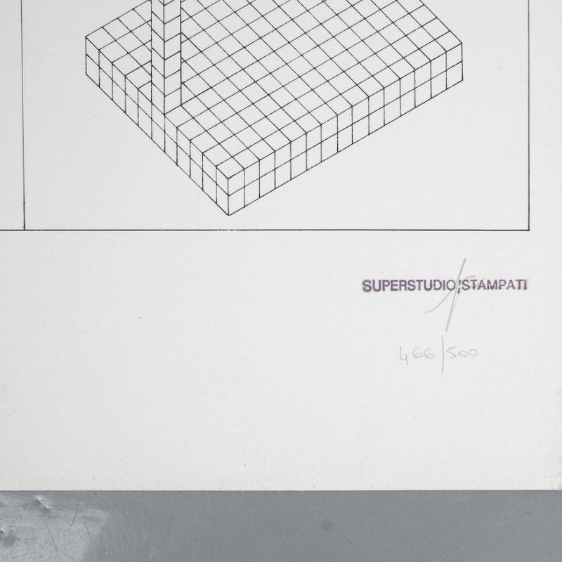 Superstudio Litograph 1 03