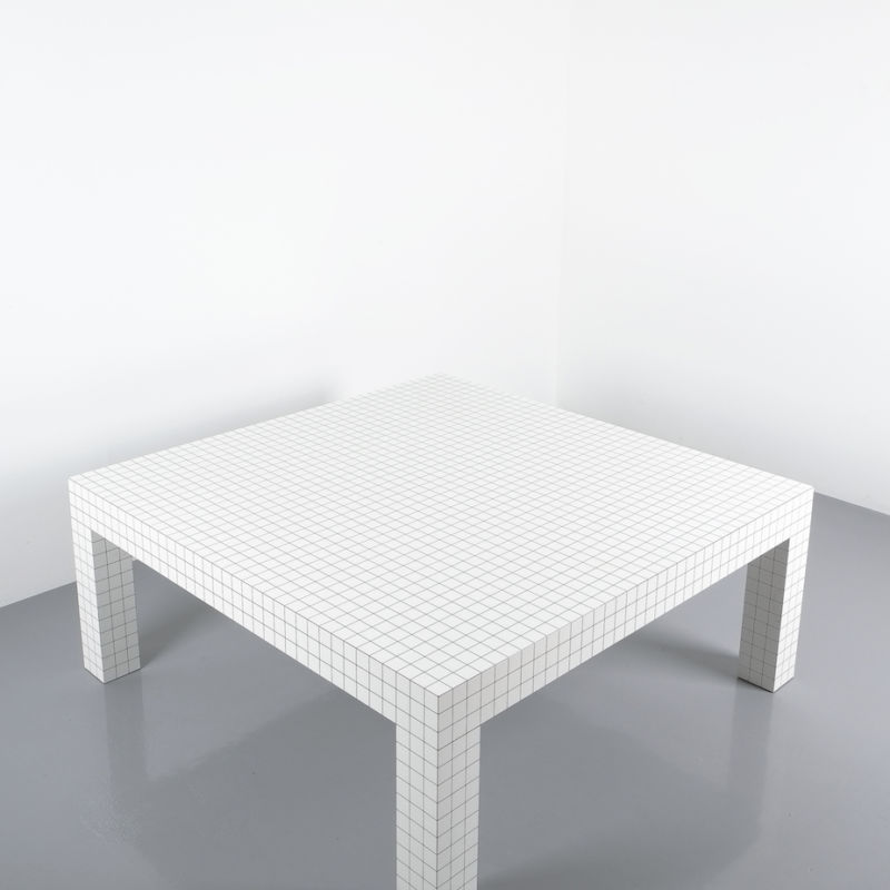 Superstudio Quaderna Coffee Table 10