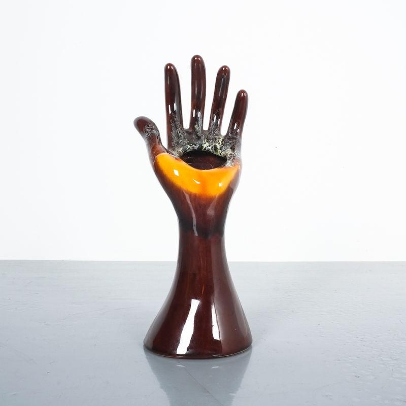 Vallauris Hand Vase 01