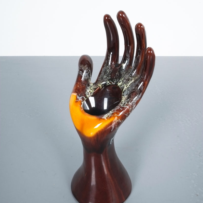 Vallauris Hand Vase 06
