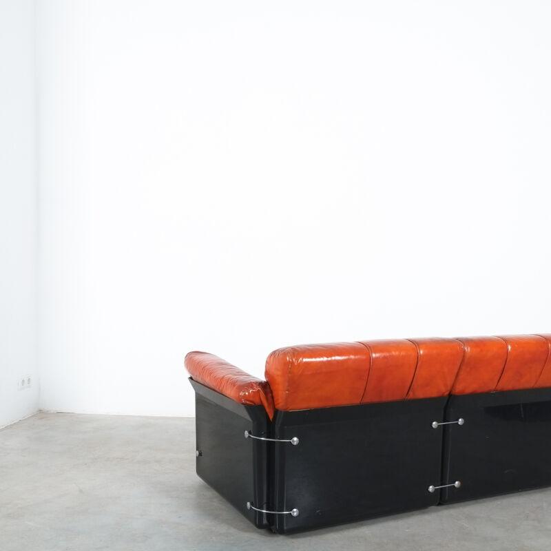 Vittorio Introini Saporiti Leather Sofa 03