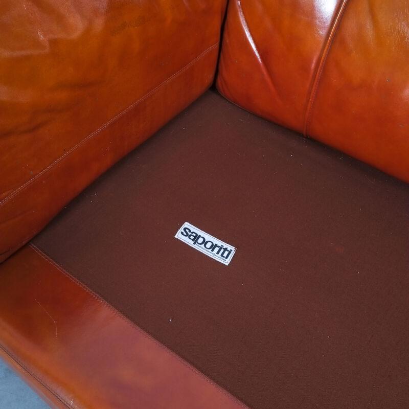 Vittorio Introini Saporiti Leather Sofa 04