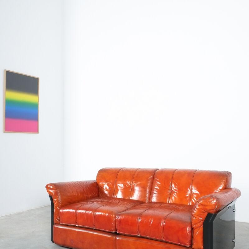 Vittorio Introini Saporiti Leather Sofa 07