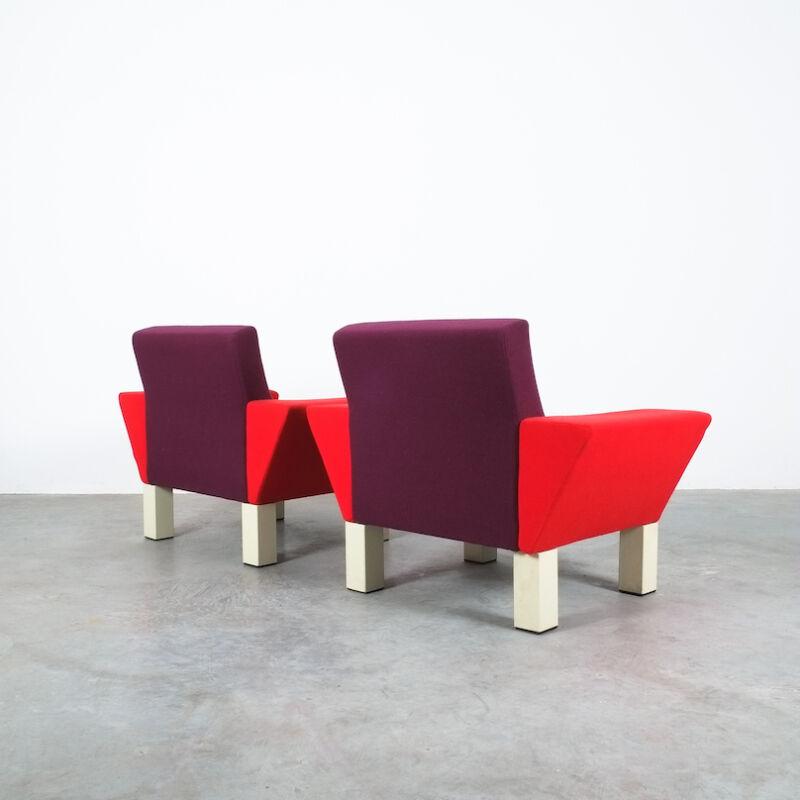Westside Ettore Sottsass Pair Chairs 01