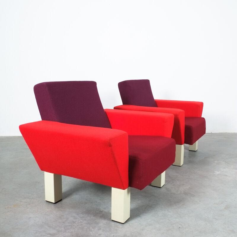Westside Ettore Sottsass Pair Chairs 02