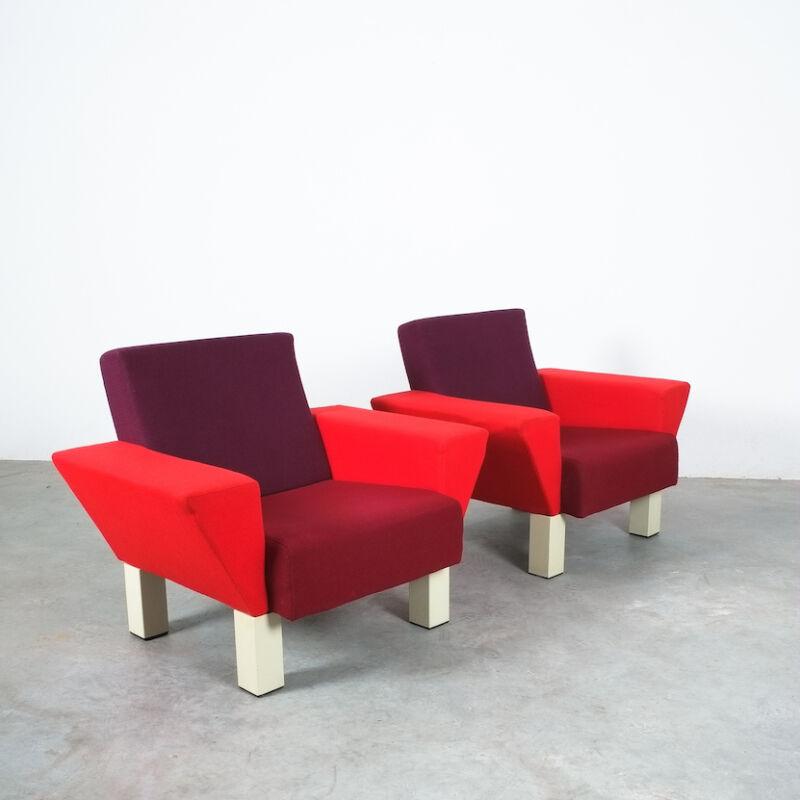 Westside Ettore Sottsass Pair Chairs 04