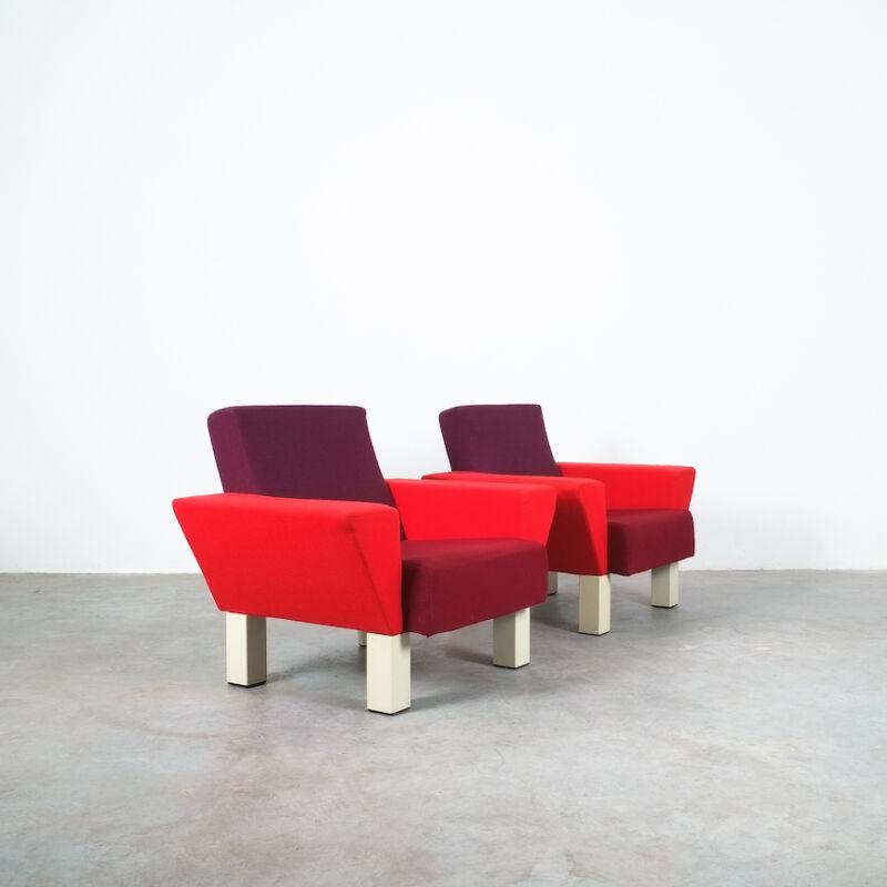 Westside Ettore Sottsass Pair Chairs 05
