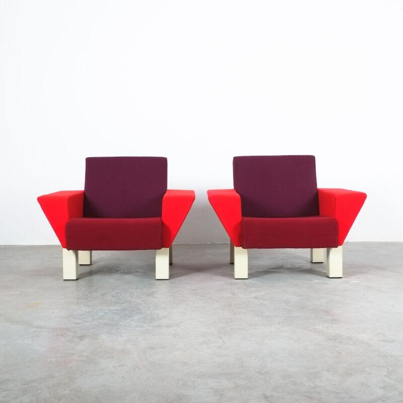 Westside Ettore Sottsass Pair Chairs 06