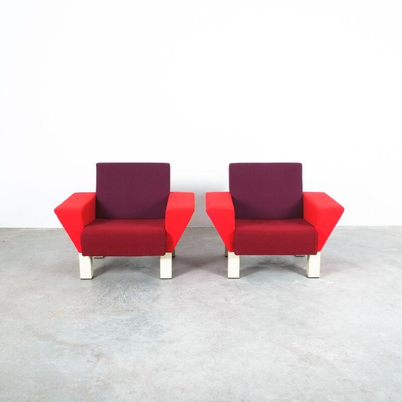 Westside Ettore Sottsass Pair Chairs 07