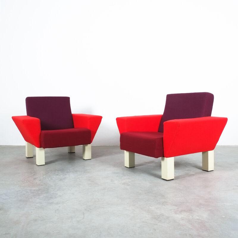 Westside Ettore Sottsass Pair Chairs 08