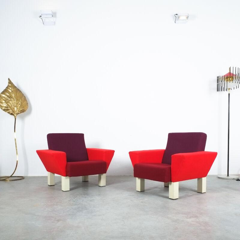 Westside Ettore Sottsass Pair Chairs 10