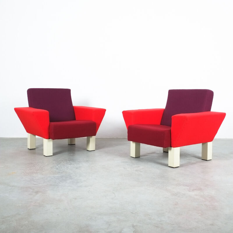 Westside Ettore Sottsass Pair Chairs 11