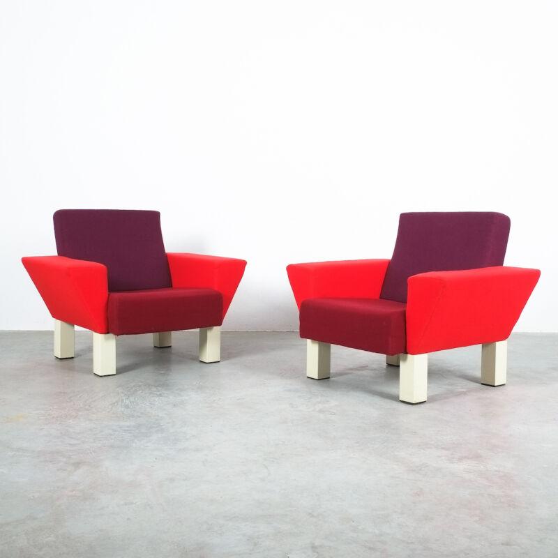 Ettore Sottsass Pair Chairs 12