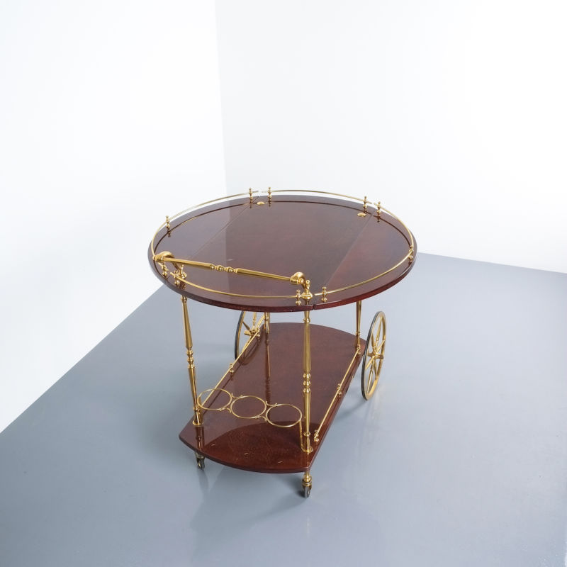 aldo tura bar cart brown_12