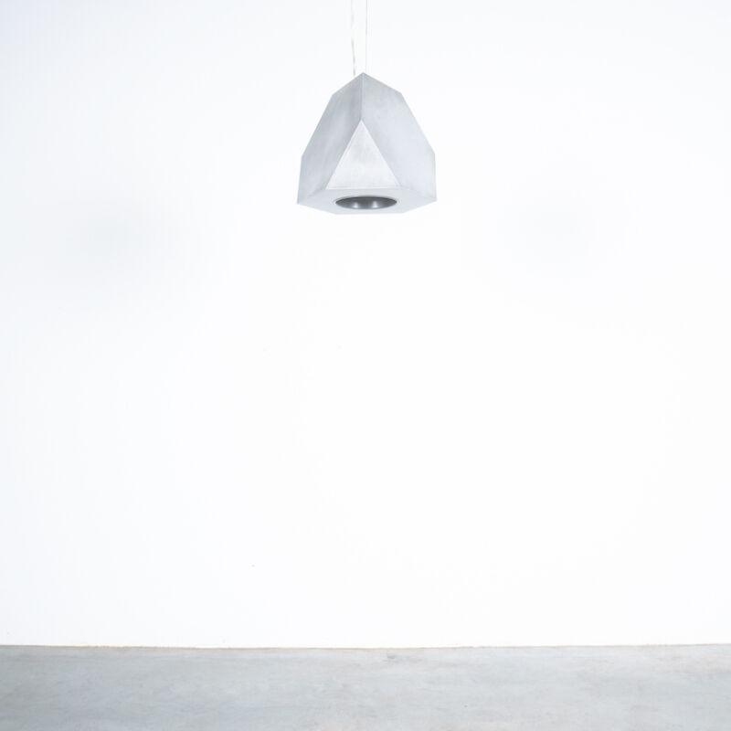 Aluminum Lamp Pair Duerer Polyeder 01
