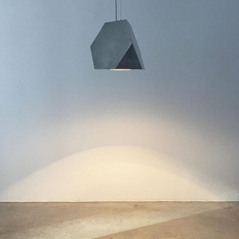 Aluminum Lamp Pair Duerer Polyeder 04