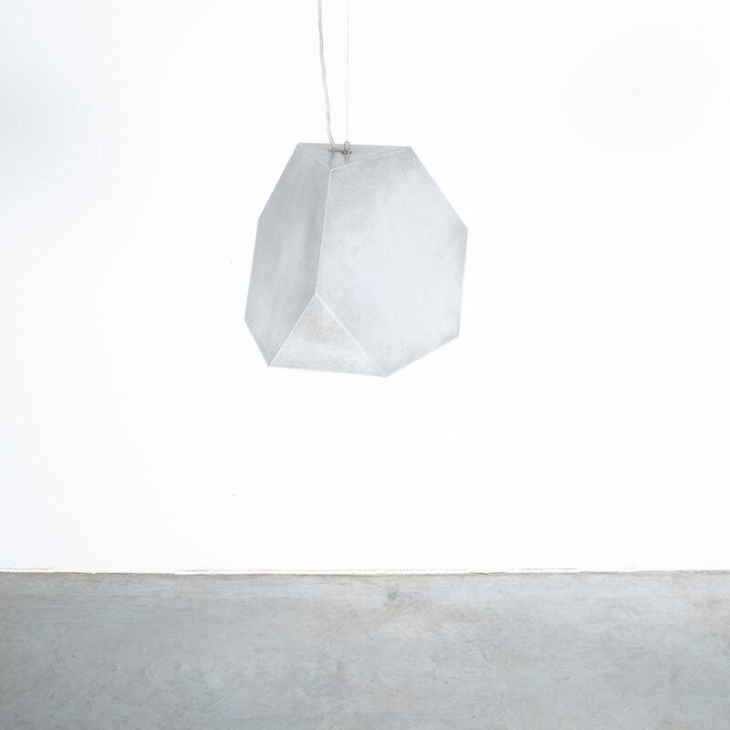 Aluminum Lamp Pair Duerer Polyeder 06