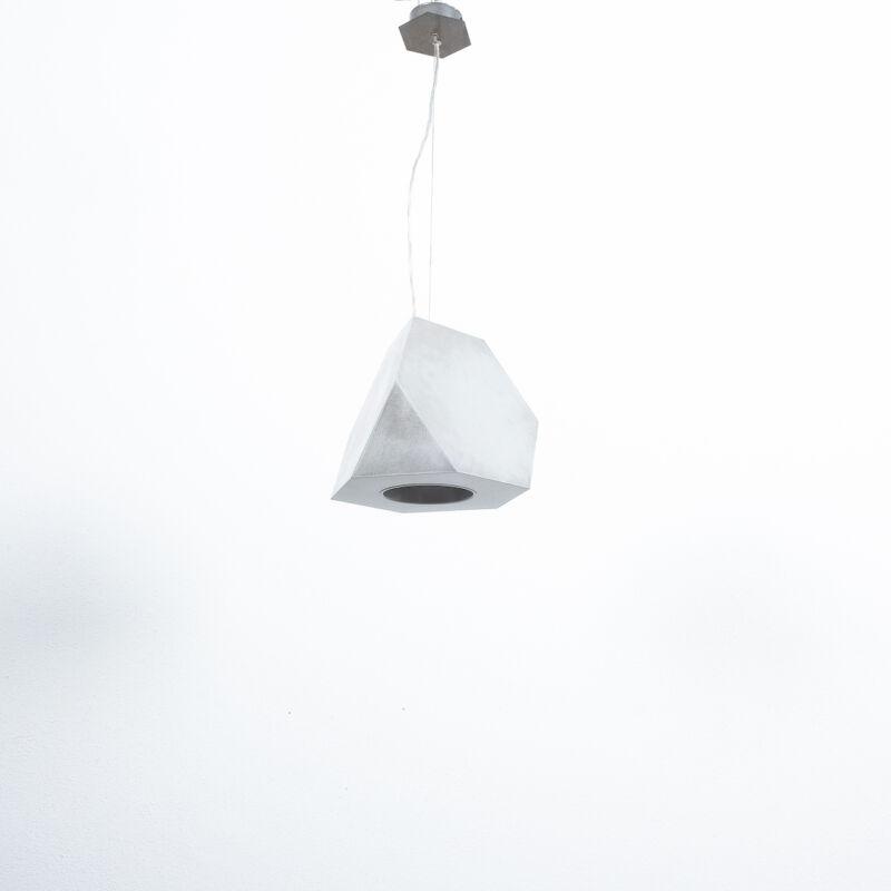Aluminum Lamp Pair Duerer Polyeder 07