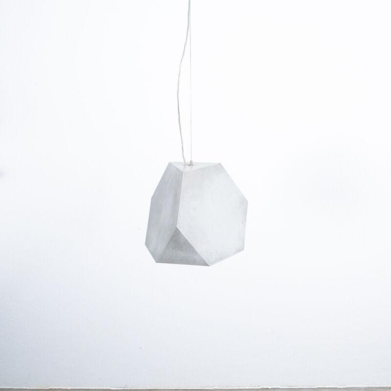 Aluminum Lamp Pair Duerer Polyeder 08