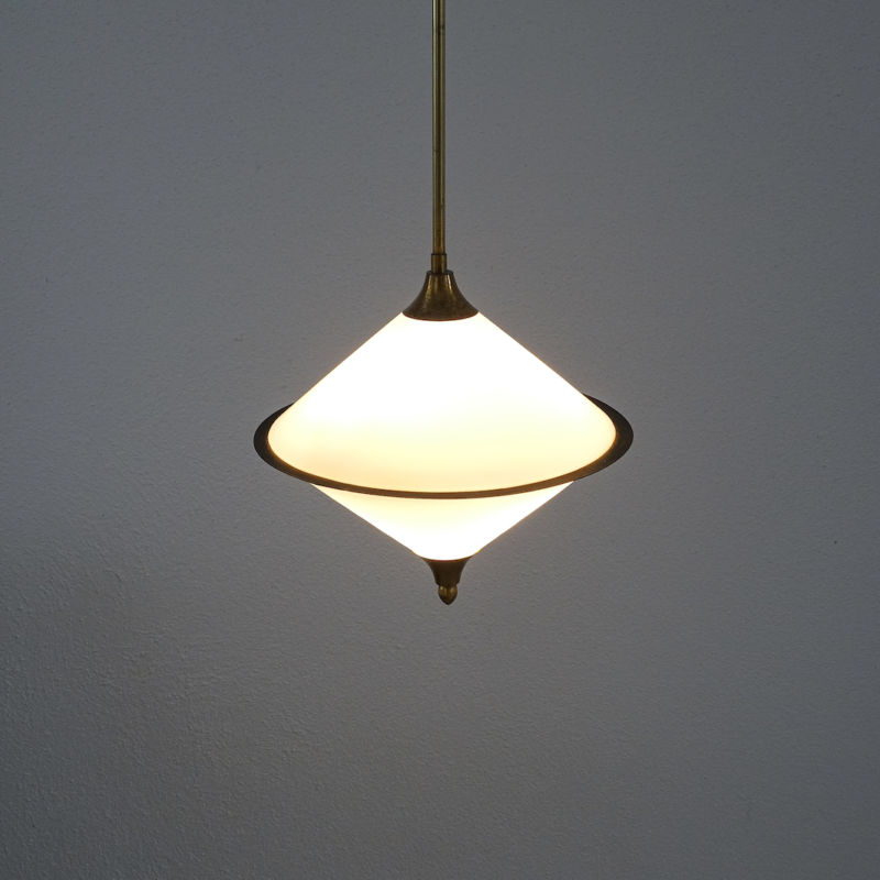 Angelo Lelli Pendant Glass Lamp 02