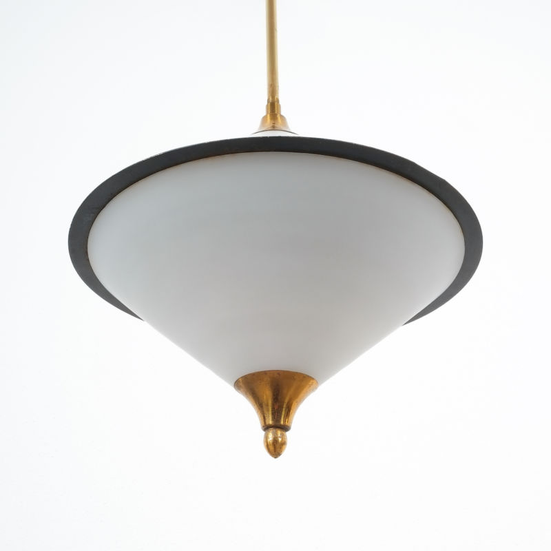 Angelo Lelli Pendant Glass Lamp 07