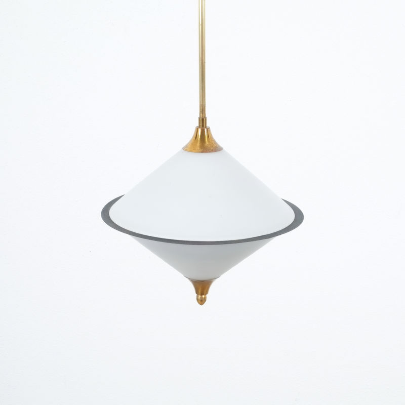 Angelo Lelli Pendant Glass Lamp 08
