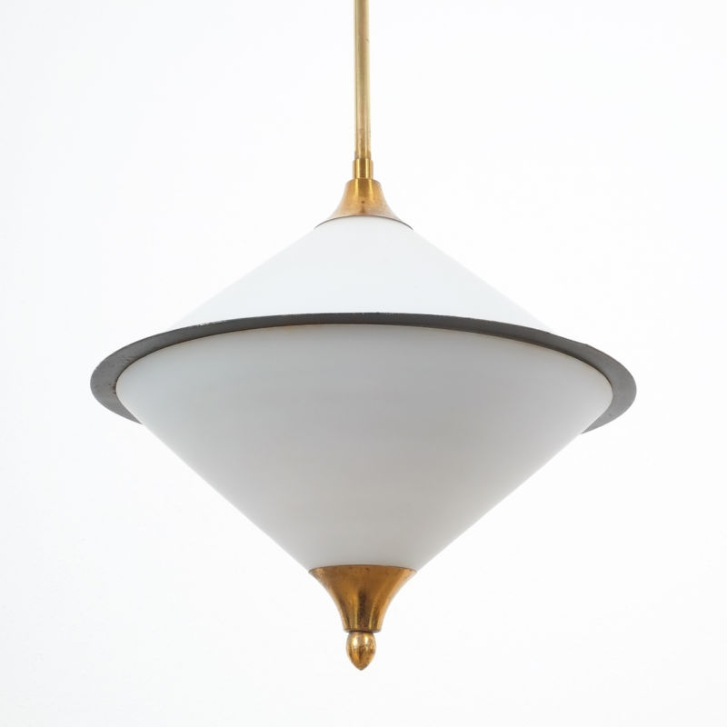 Angelo Lelli Pendant Glass Lamp 09