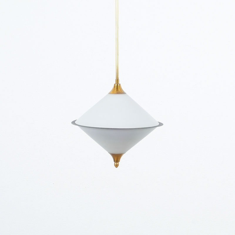 Angelo Lelli Pendant Glass Lamp 10