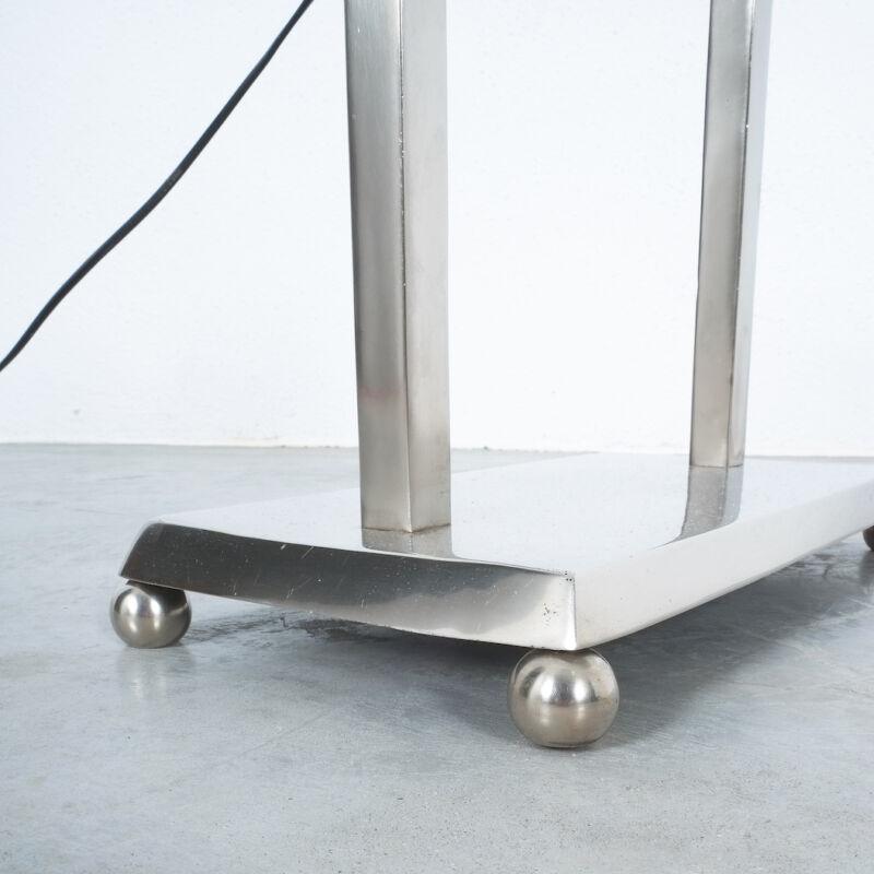 Art Deco Brass Counterweight Lamp 02