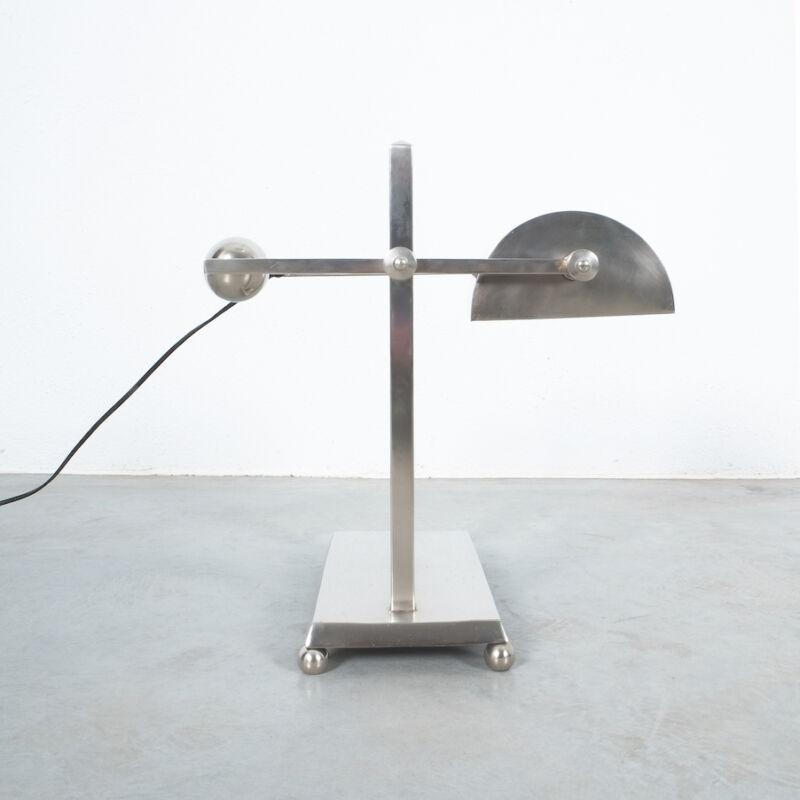 Art Deco Brass Counterweight Lamp 03