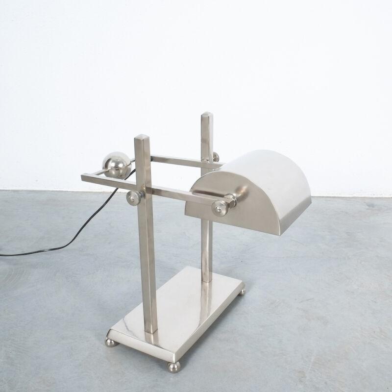 Art Deco Brass Counterweight Lamp 08