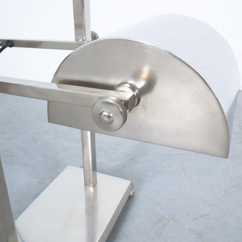 Art Deco Brass Counterweight Lamp 09