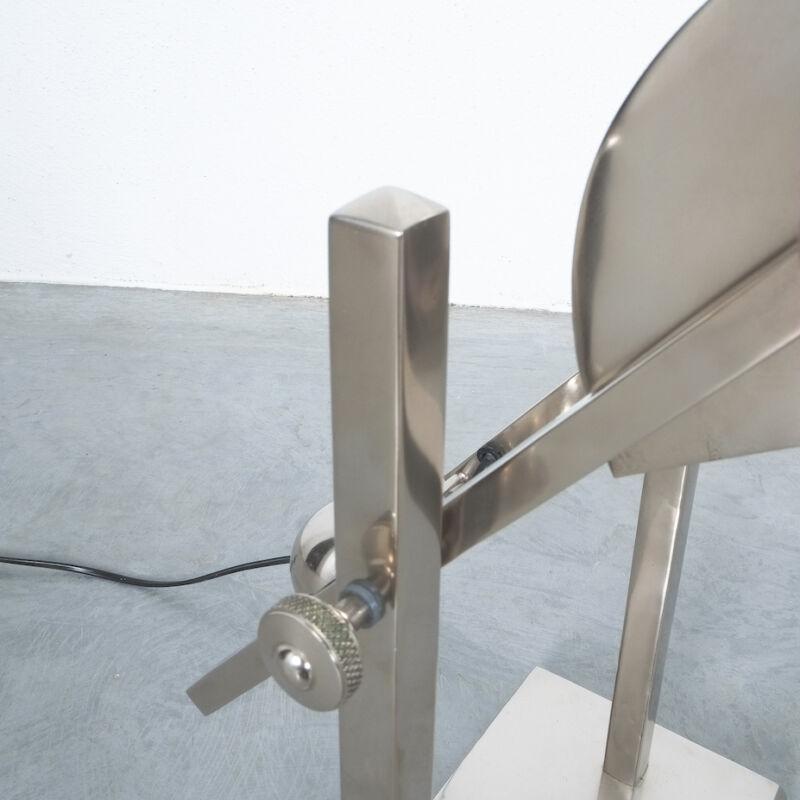 Art Deco Brass Counterweight Lamp 11
