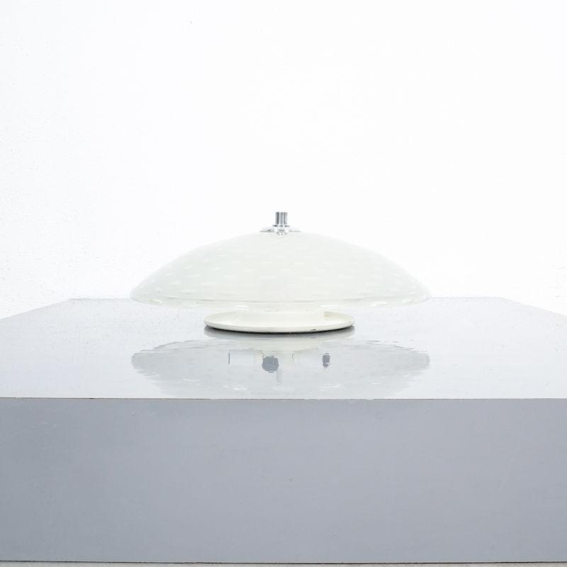 Art Deco Flush Mount Italy Glass 06