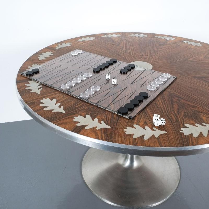 Backgammon Lucite Game 07