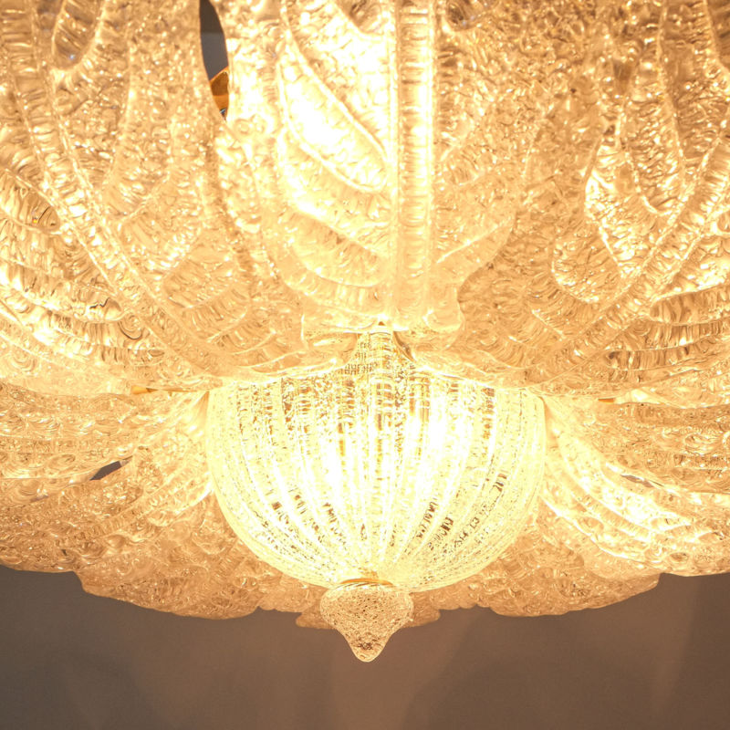 Barovier Toso Chandelier Glass 03