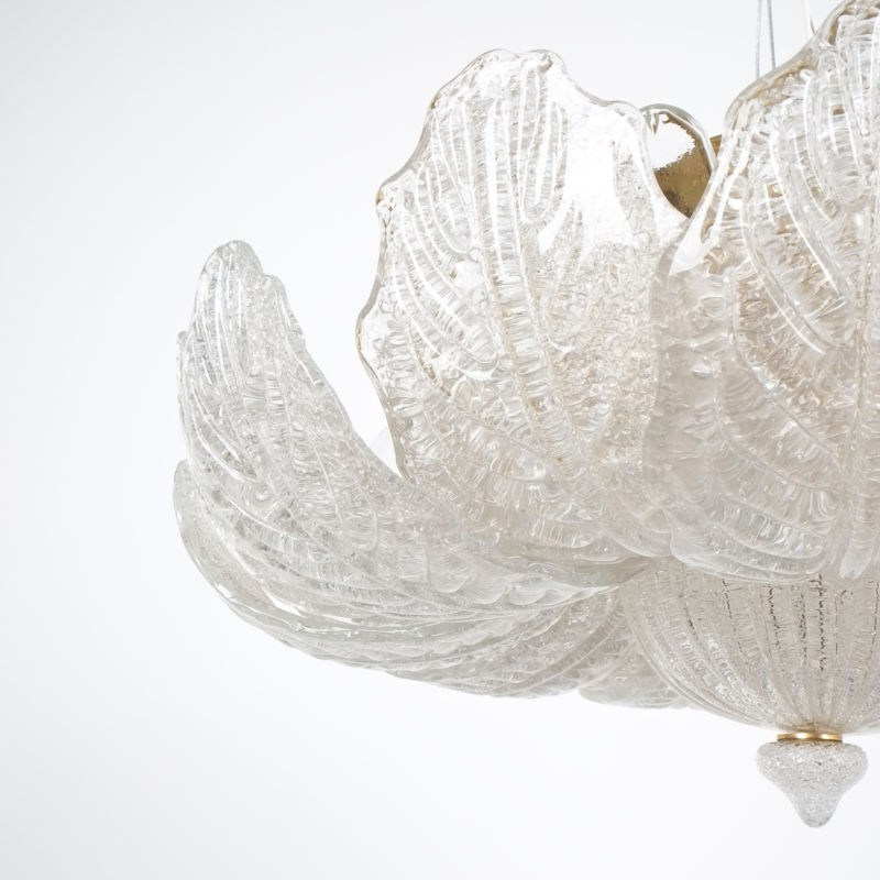 Barovier Toso Chandelier Glass 05