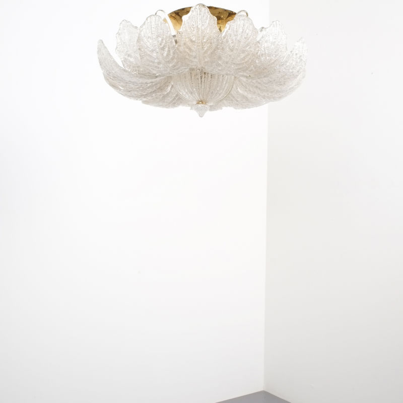 Barovier Toso Chandelier Glass 06