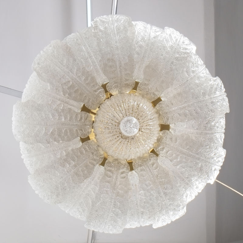 Barovier Toso Chandelier Glass 08