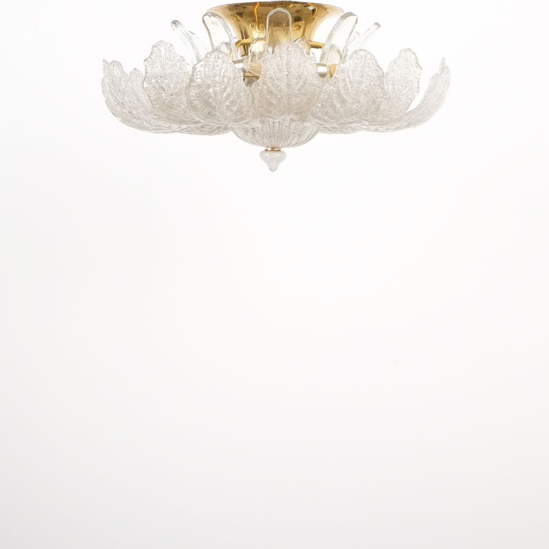 Barovier Toso Chandelier Glass 10