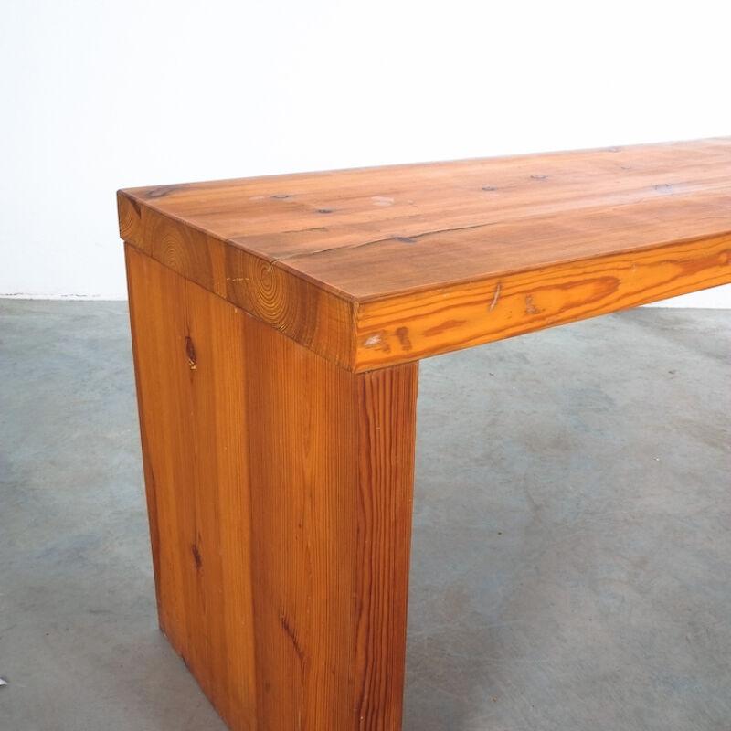 Bench Fir Wood Raffaello Biagetti 02