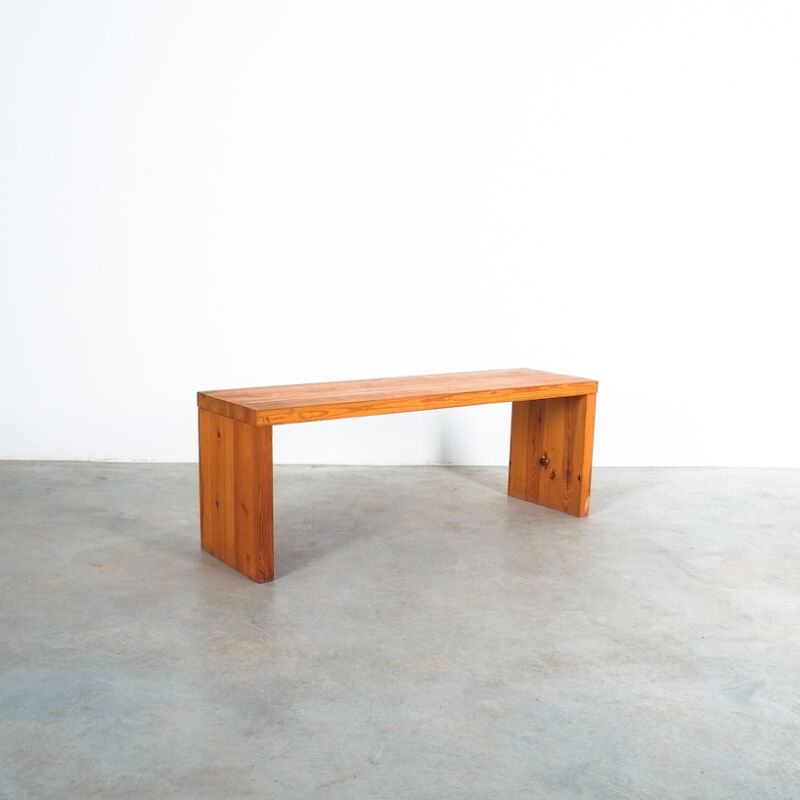 Bench Fir Wood Raffaello Biagetti 03